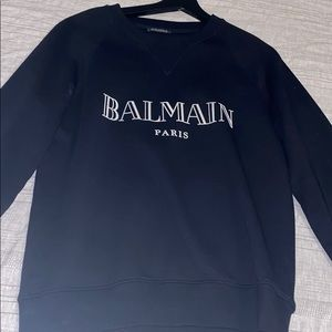 balmain crew neck